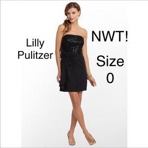 Lilly Pulitzer Black abrianna Dress 0